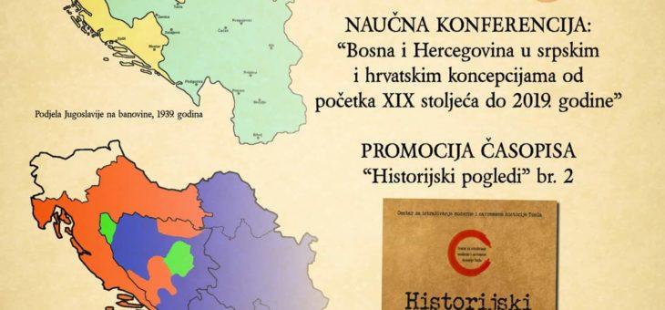 """Najava naučne manifestacije """"Historijski pogledi 2"""""""