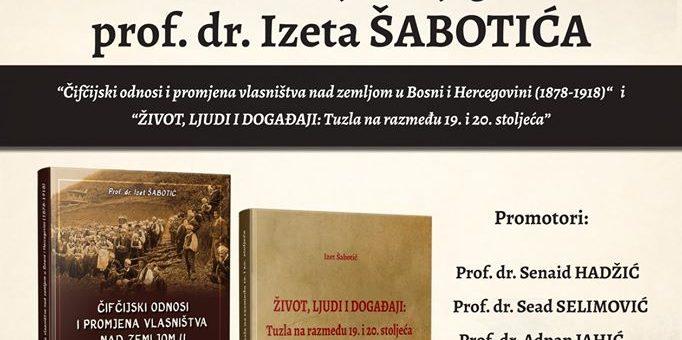 Održana promocija knjiga prof. dr. Izeta Šabotića