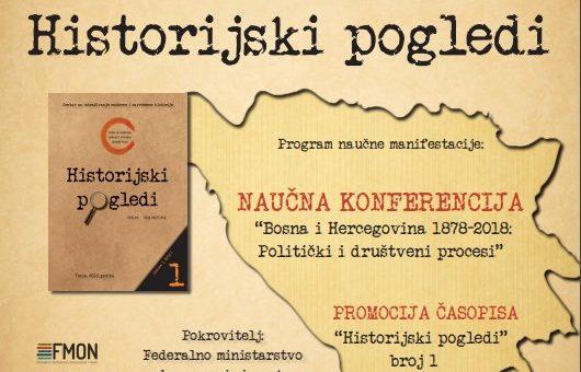 """Održana konferencija """"Historijski pogledi"""" 2018."""